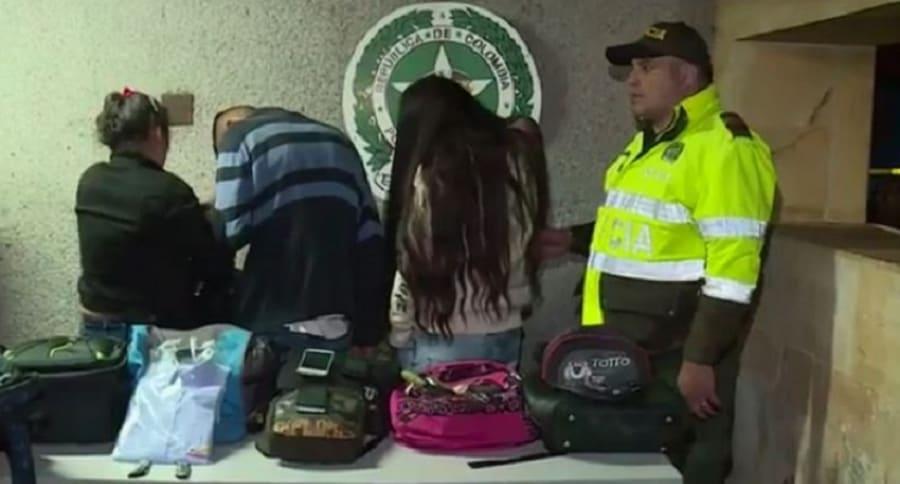 Capturada la banda delincuencial liderada por alias la 'Quisquillosa'