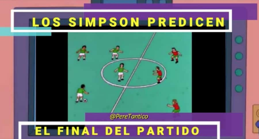 Escena de 'Los Simpson'. Pulzo.