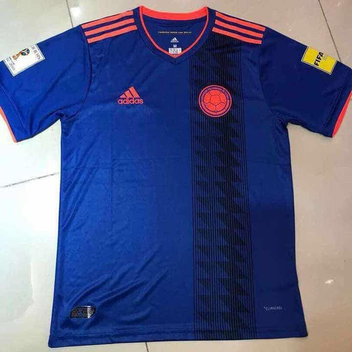 Camiseta visitante de Colombia