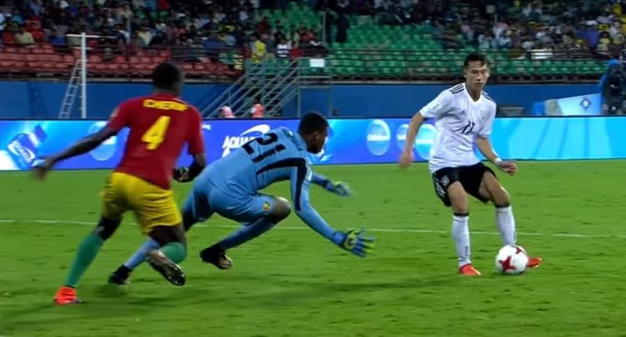 Alemania  3-1 Guinea