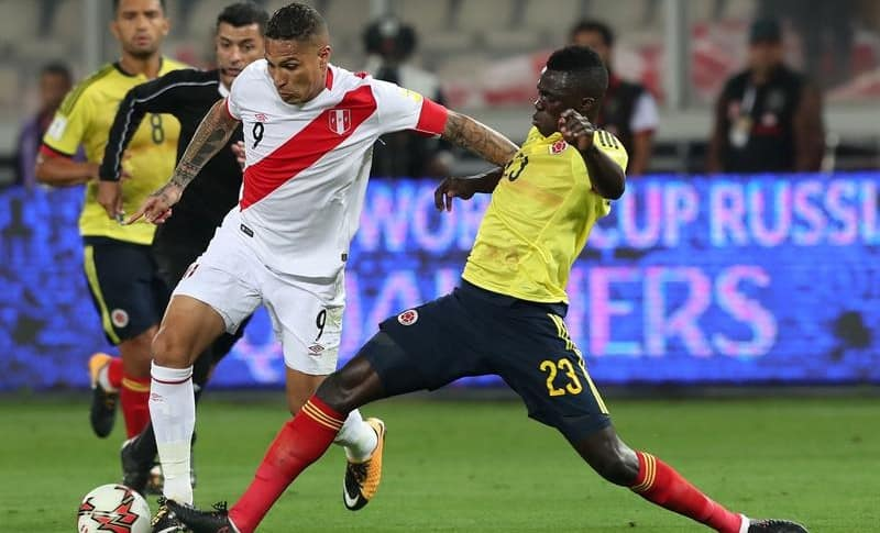Perú vs. Colombia