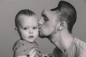 Austin y su hijo
