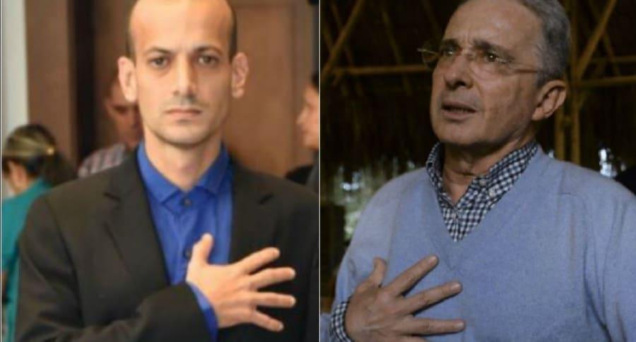 Concejal uribista arremete contra Uribe