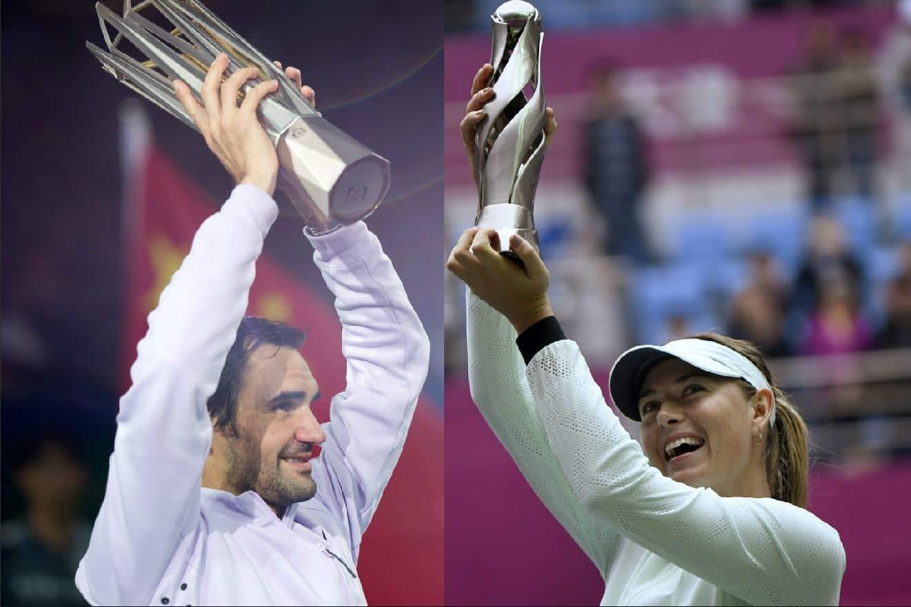 Federer y Sharapova