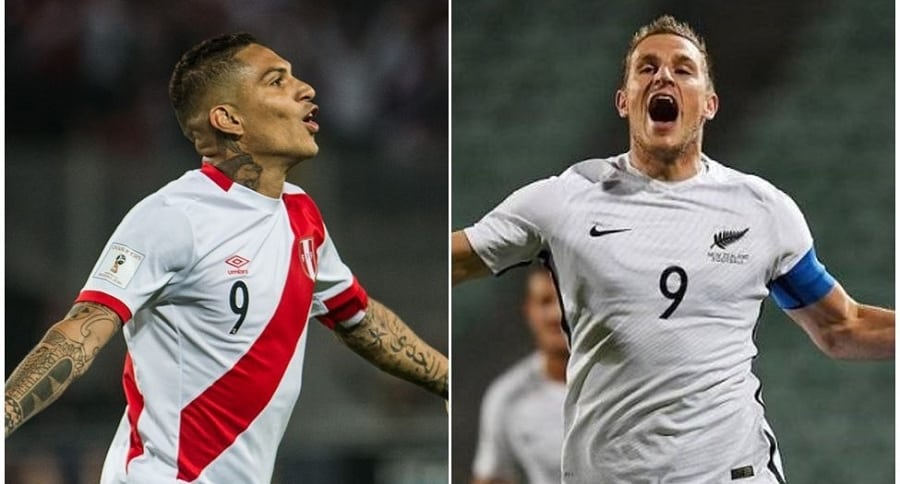 Paolo Guerrero  y Chris Wood