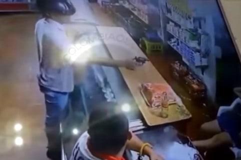 Ladrón dispara