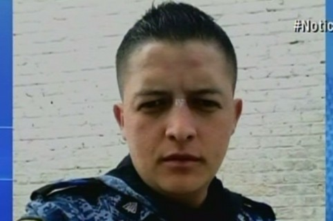 Ronald Rosero, guardián del Inpec. Pulzo.