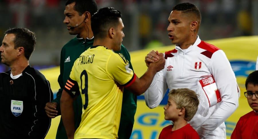 Falcao García y Paolo Guerrero