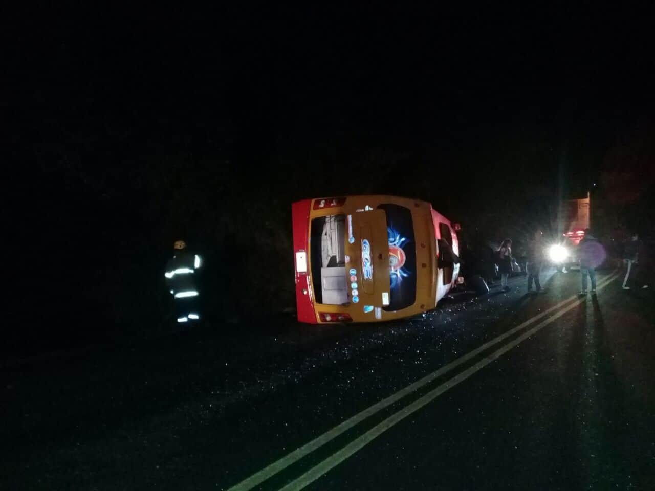 accidente en la vía Bogotá-Villeta