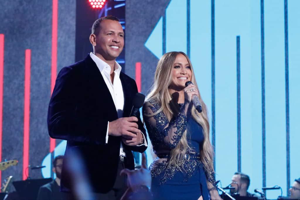 Jennifer Lopez y el beisbolista dominicano Alex Rodríguez. Pulzo.