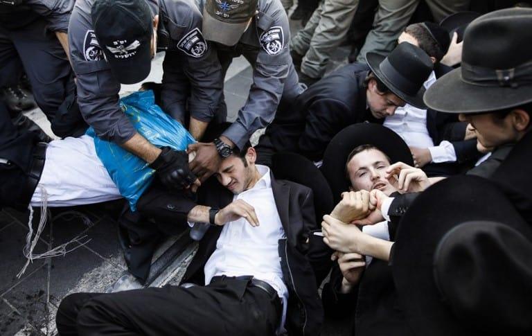 Manifestaciones de judíos ortodoxos