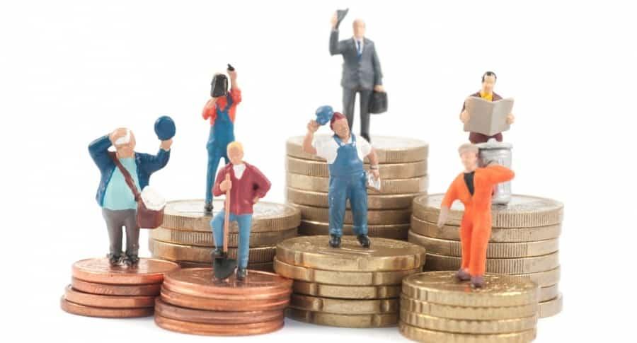 Salario mínimo en Colombia.