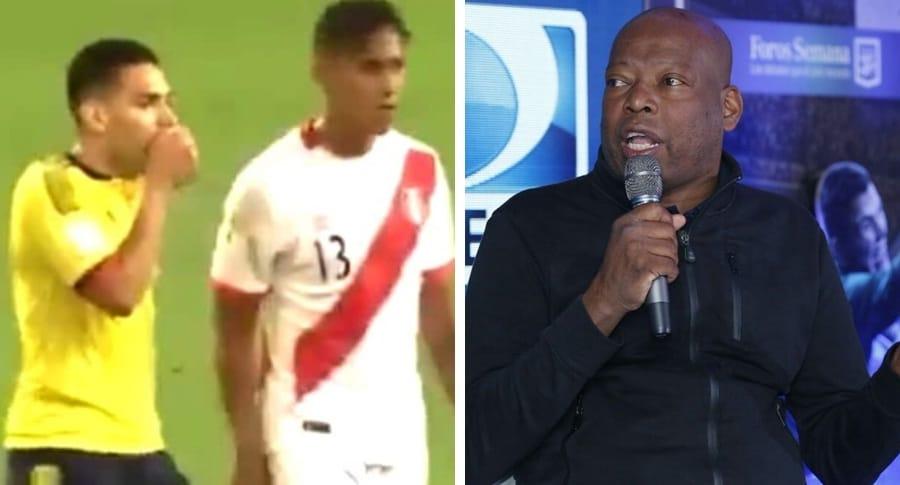 Falcao García y Faustino Asprilla