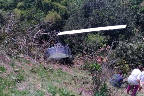 Accidente de helicóptero militar