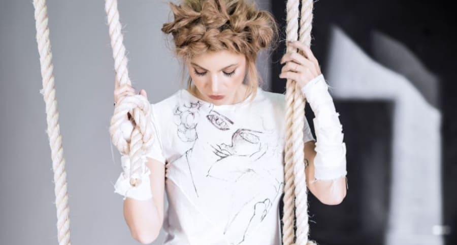 Colección de camisetas hechas a mano por reclusos de la fundación Acción Interna