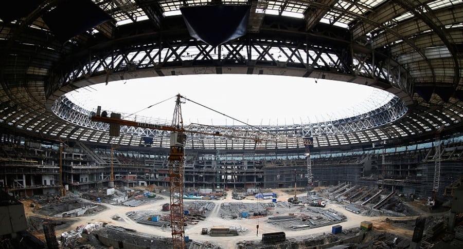 Estadio Olimpico de Luzhniki de Moscú - Pulzo.com