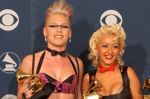 Pink y Christina Aguilera