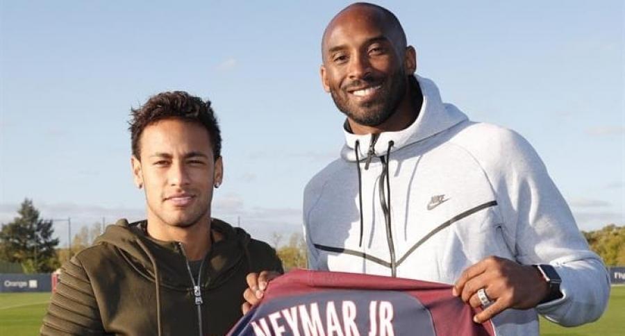 Kobe Bryant  y Neymar