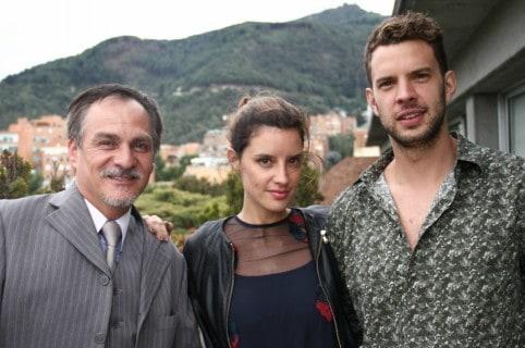 Carlos Hurtado, Ana Wills y Raúl Ocampo