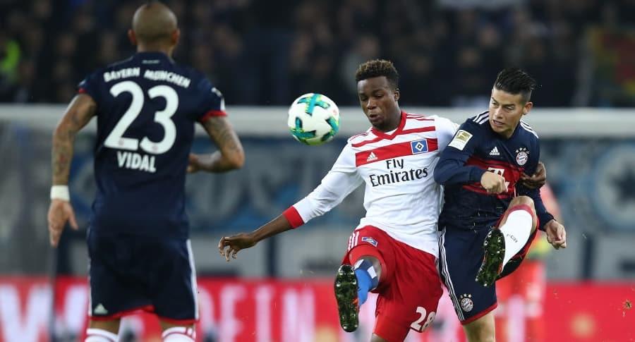Hamburgo v Bayern Múnich
