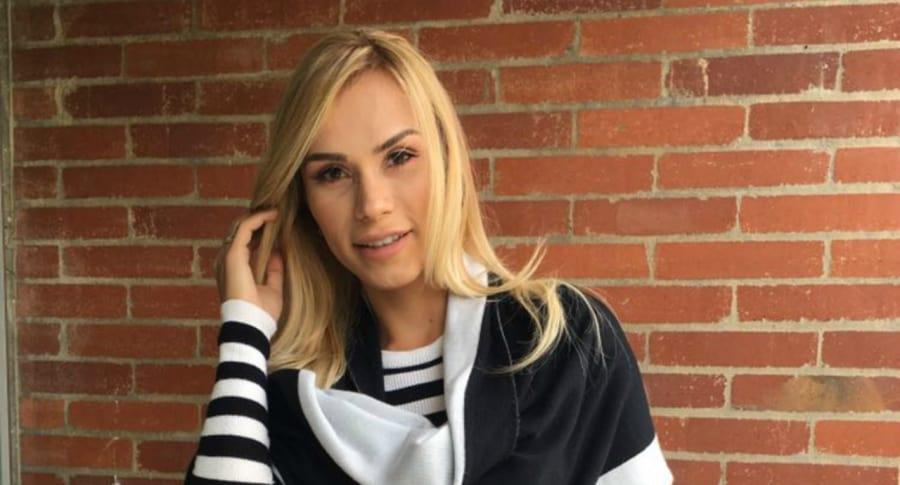 María del Mar Arboleda, exparticipante de 'Protagonistas' de RCN.