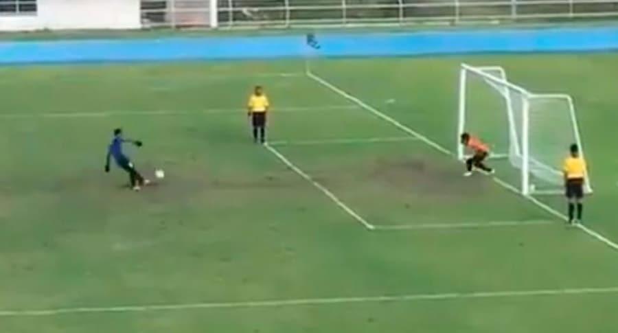 Curioso penalti