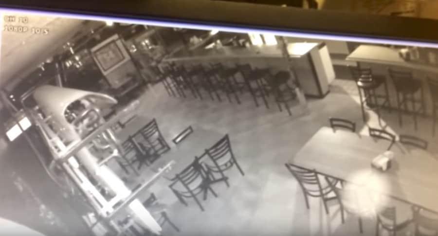Restaurante supuestamente embrujado. Pulzo.