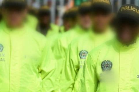 Uniformados de la Policía. Pulzo.