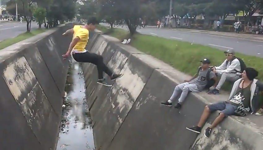 Salto en caño