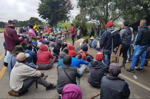 Marcha en Valle del Cauca