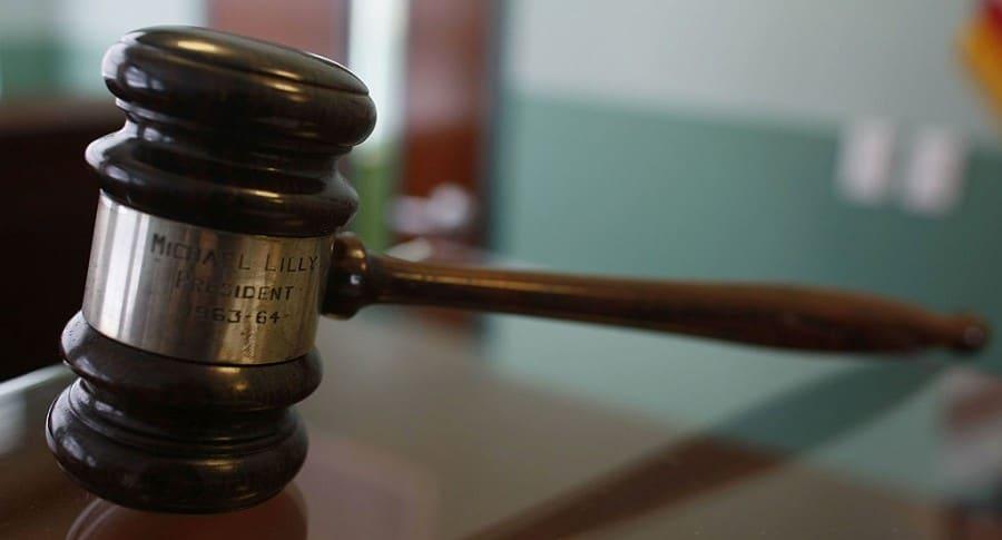 Martillo de juzgado