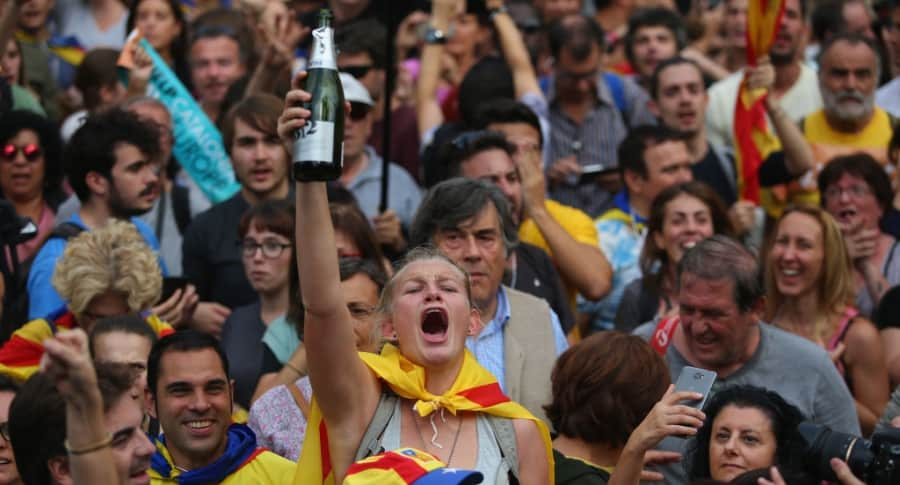 Celebración en Barcelona
