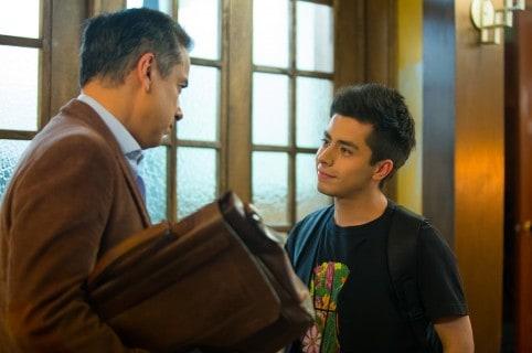 Javier Ramírez y Jorge Enrique Abello, actores.