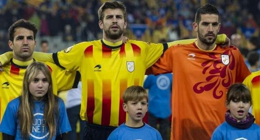 Fábregas, Piqué y Casilla