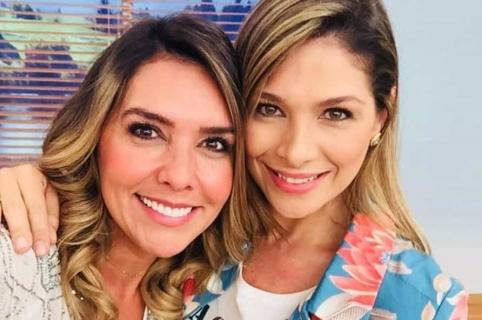 Mónica Rodríguez y Ana Milena Gutiérrez, presentadoras.
