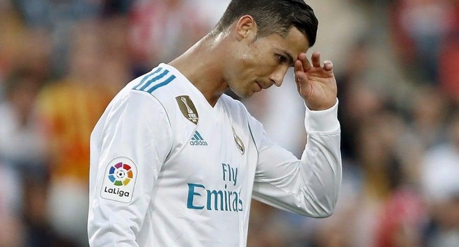 Cristiano Ronaldo durante el partido contra el Girona