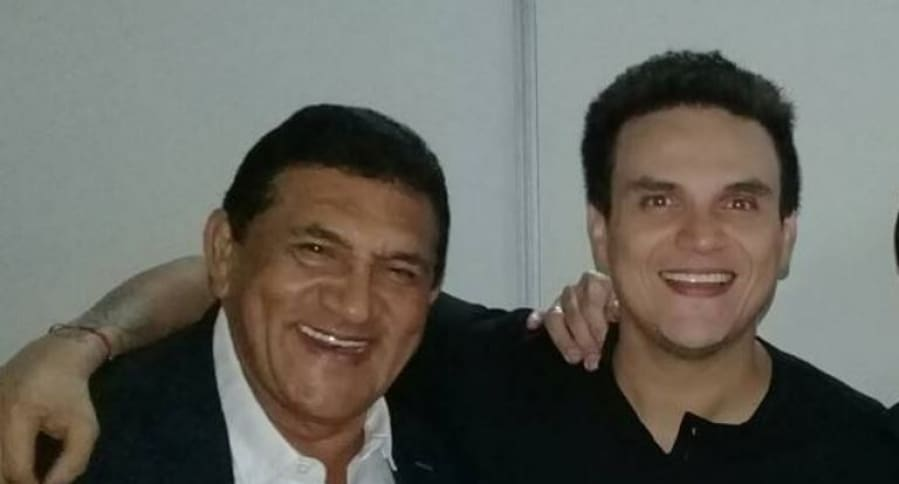 Poncho Zuleta y Silvestre Dangond