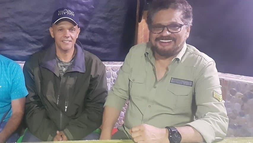 'El Paisa' e 'Iván Márquez'