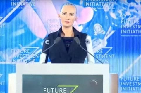 Robot ciudadano en Arabia Saudita