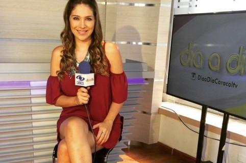 Ana Milena Gutiérrez, presentadora.