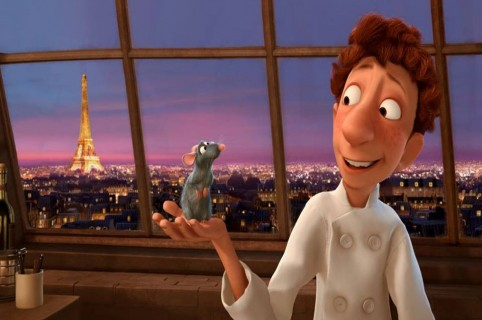 Remy y Lingüini, personajes de 'Ratatouille'. Pulzo.