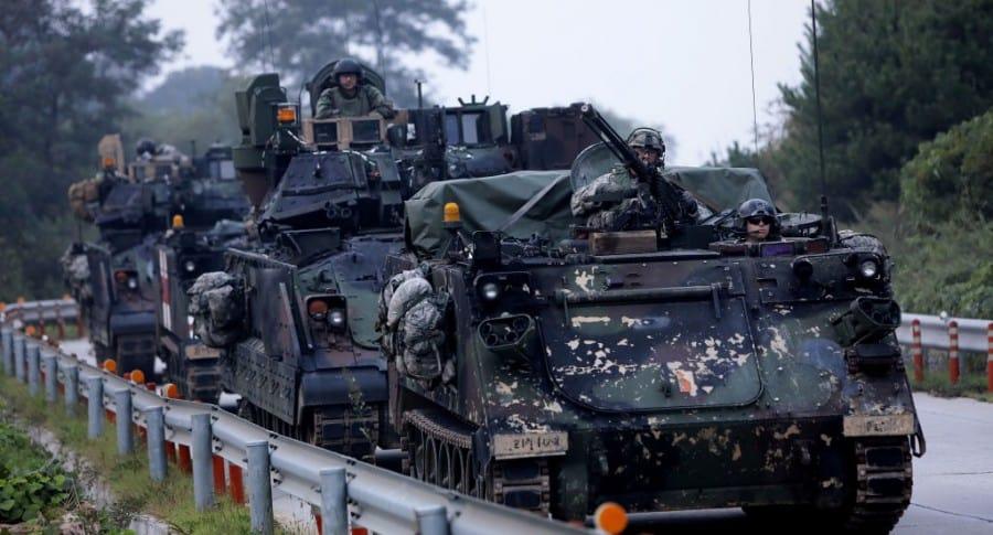 Tanques del ejército de Estados Unidos