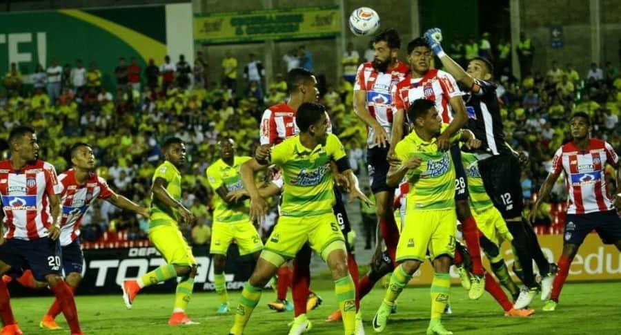 Atl. Bucaramanga vs. Atl. Junior