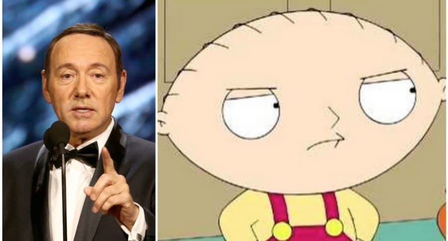Kevin Spacey / Stewie Griffin de 'Family Guy'
