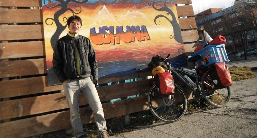 Kim Jeong Hwan y la bicicleta que le hurtaron