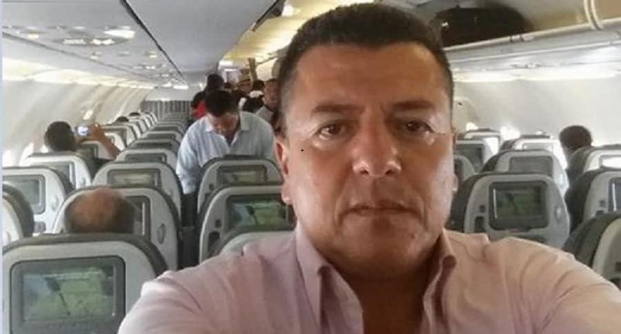 Hugo Ospina, representante taxistas en Bogotá