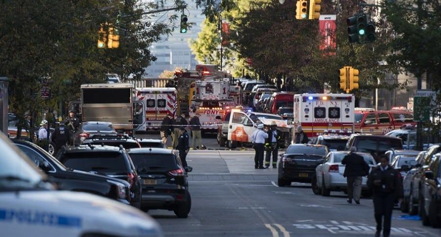 Ataque en Nueva York