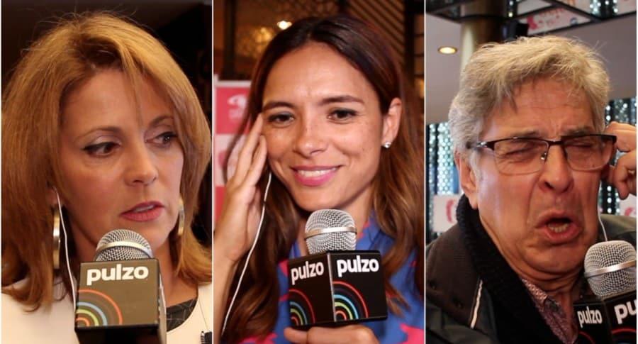 Rita Bendek, Viña Machado y Manuel Busquets