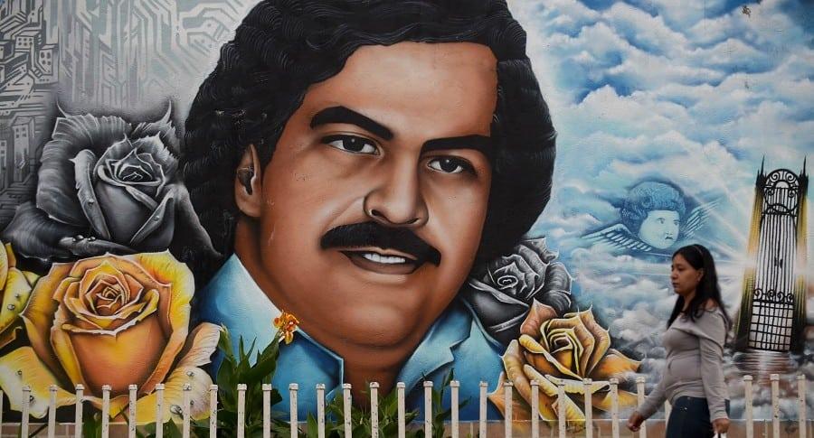 Grafiti de Pablo Escobar