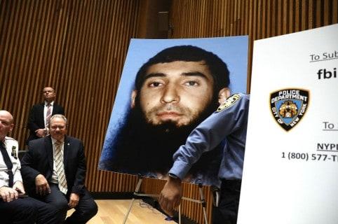 Retrato del autor del atentado